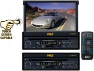 Pyle Car Audio PLTS73FX 7' Single DIN In-Dash Motorized Touch Screen TFT/LCD Monitor w/ DVD ...