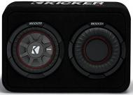 "Kicker 43TCWRT674 Car Audio 6.75"" Comp RT Loaded Sub Box Sealed Enclosure 4 Ohm"