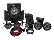Kicker 45CX35 Can-AM Maverick X3 UTV SSV Works Loaded Amp, 4 Speaker Sub Package