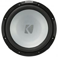 "Kicker 45KM122 Marine Audio Boat 12"" Subwoofer Single 2 Ohm 600 Watts Sub KM12"