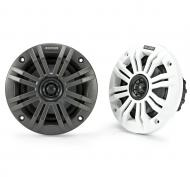 "Kicker 45KM42 Marine Audio Boat 4"" Coaxial Speakers 150 Watts 2 Ohm KM42 Pair"