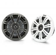"Kicker 45KM654 Marine Audio Boat 6 1/2"" Coaxial Speakers 195 Watts 4 Ohm KM65"