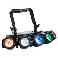 American DJ Penta Pix Lighting Multi 5 Color RGBW Beam Effect Light Pixel Zone