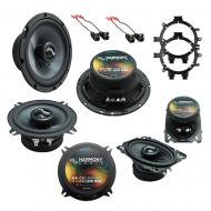 Fits GMC Sierra Classic 2007 OEM Premium Speaker Replacement Harmony C5 C65 C46 Package