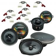 Fits Toyota Tacoma 2005-2015 Factory Premium Speaker Replacement Harmony Upgrade Package