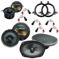 Fits Dodge Neon 1995-2001 Factory Premium Speaker Replacement Harmony Upgrade Package