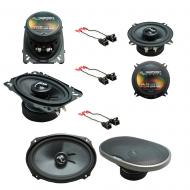Fits Cadillac DeVille 1990-1995 Factory Speaker Upgrade Harmony Premium Speakers Package