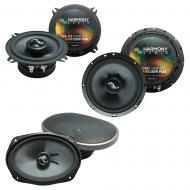 Fits Volvo V70/Cross Country/XC70 2005-2007 OEM Speaker Upgrade Harmony Premium Speakers