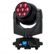 American DJ Vizi Q Wash 7 Lighting Moving Head 40W LED RGBW Color Wash Light