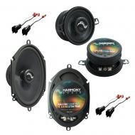 Fits Ford Thunderbird 2002-2005 OEM Premium Speaker Upgrade Harmony C68 C35 Package New