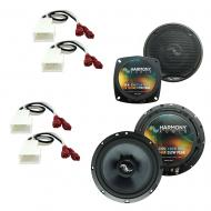 Fits Toyota 4 Runner 1996-2000 Factory Premium Speaker Upgrade Harmony C65 C4 Package