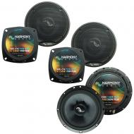 Fits Chevy SSR 2003-2006 Factory Premium Speaker Upgrade Harmony C65 (2) C4 Package New