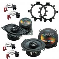 Fits Chevy CK Pickup 1995-2000 Factory Premium Speaker Upgrade Harmony C5 C46 Package