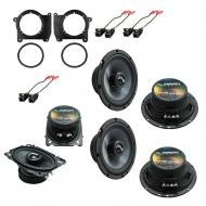 Fits GMC Jimmy 1995-2001 OEM Premium Speaker Replacement Harmony (2) C65 C46 Package New