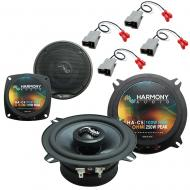 Fits Toyota Celica 1982-1985 Factory Premium Speaker Upgrade Harmony C4 C5 Package New
