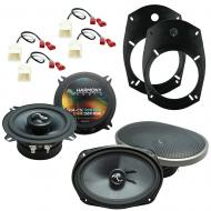 Fits Dodge Ram Truck 2500/3500 2006-2010 OEM Speaker Upgrade Harmony Premium Speakers