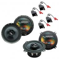 Fits Dodge Ram Truck 1984-1993 Factory Premium Speaker Upgrade Harmony C69 C5 Package
