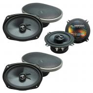 Fits Dodge Caravan 2002-2007 OEM Premium Speaker Upgrade Harmony (2)C69 C5 Package New