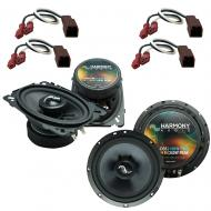 Fits Nissan Sentra 1991-1994 Factory Premium Speaker Upgrade Harmony C46 C65 Package New