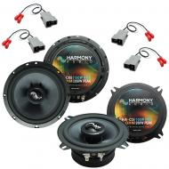 Fits Mitsubishi Mirage 1997-2002 OEM Premium Speaker Replacement Harmony C5 C65 Package