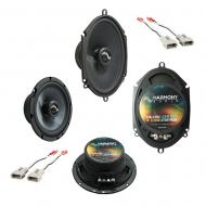 Fits Ford Bronco (Full Size) 1987-1996 Premium Speaker Upgrade Harmony C65 C68 Package