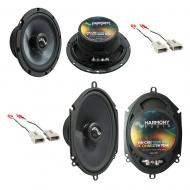 Fits Ford Escort/ZX2 1997-2004 Factory Premium Speaker Upgrade Harmony C65 C68 Package