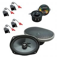 Fits Dodge Diplomat 1984-1989 Factory Premium Speaker Upgrade Harmony C35 C69 Package