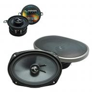 Fits Plymouth Volare 1976-1980 OEM Premium Speaker Upgrade Harmony C35 C69 Package New