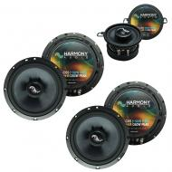 Fits Jeep Liberty 2002-2007 OEM Premium Speaker Replacement Harmony (2) C65 C35 Package