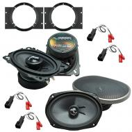 Fits Chevy Cavalier 1995-2005 Factory Premium Speaker Upgrade Harmony C46 C69 Package