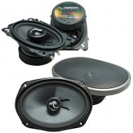 Fits Oldsmobile Alero 1999-2000 OEM Premium Speaker Upgrade Harmony C46 C69 Package New