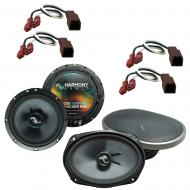 Fits Nissan Xterra 2000-2004 Factory Premium Speaker Upgrade Harmony C65 C69 Package New