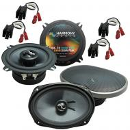 Fits Chrysler Sebring Coupe/Sedan 1995-2000 OEM Speaker Upgrade Harmony Premium Speakers