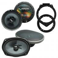 Fits Pontiac G6 2009-2009 Factory Premium Speaker Replacement Harmony C65 C69 Package