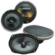 Fits Pontiac Grand Prix 2004-2008 OEM Premium Speaker Upgrade Harmony C65 C69 Package