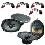 Fits Nissan Altima 1993-1997 OEM Premium Speaker Replacement Harmony C68 C69 Package New