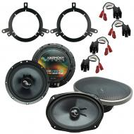 Fits Dodge Intrepid 1998-2004 Factory Premium Speaker Upgrade Harmony C65 C69 Package
