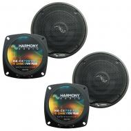 Fits Toyota Supra 1986.5-1992 Factory Premium Speaker Replacement Harmony (2) C4 Package
