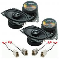 Fits Volkswagen Scirocco 1981-1987 OEM Premium Speaker Upgrade Harmony (2) C46 Package