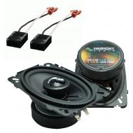 Fits Chevy Van (Full Size) 1988-1995 Factory Premium Speaker Upgrade Harmony C46 Package
