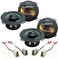 Fits Suzuki Sidekick 1989-1991 Factory Premium Speaker Upgrade Harmony (2) C5 Package