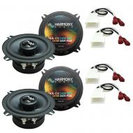 Fits Toyota Camry LE Sedan 1992-1996 OEM Premium Speaker Upgrade Harmony (2) C5 Package