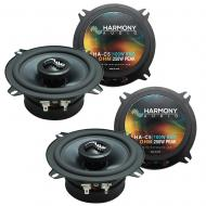 Fits Jeep CJ-7 1979-1988 OEM Premium Speaker Replacement Harmony Upgrade (2) C5 Package