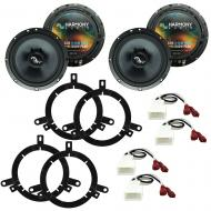 Fits Toyota Corolla 2001-2002 Factory Premium Speaker Upgrade Harmony (2) C65 Package
