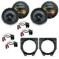 Fits Chevy Express Van 1996-2007 Factory Premium Speaker Upgrade Harmony (2) C65 Package