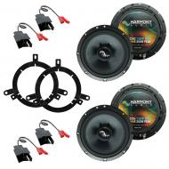Fits Dodge Dakota 1997-2000 Factory Premium Speaker Replacement Harmony (2) C65 Package