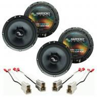 Fits Chevy Aveo (Hatchback) 2007-2008 OEM Premium Speaker Upgrade Harmony (2)C65 Package