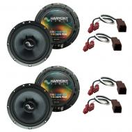 Fits Nissan Sentra 1995-1999 Factory Premium Speaker Replacement Harmony (2) C65 Package
