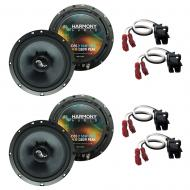 Fits Saturn S Series 2000-2002 Factory Premium Speaker Upgrade Harmony (2) C65 Package