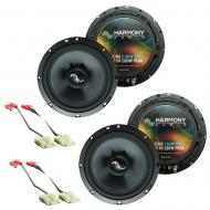 Fits Saturn Saturn: SL1/SL2/Sport Coupe 1991-1999 Premium Speaker Upgrade Harmony 2 C65